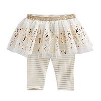 Baby Girl Baby Starters Stripe Tutu Leggings