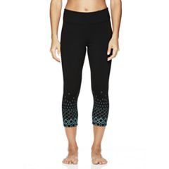 Women's Gaiam Prism Graphic Yoga Capri Leggings