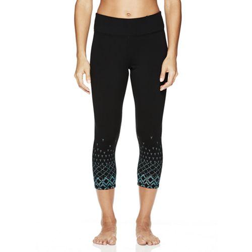 Women's Gaiam Prism Graphic Yoga Capri Leggings