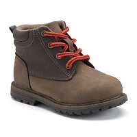 OshKosh B'gosh® Toddler Boys' Two-Tone Boots