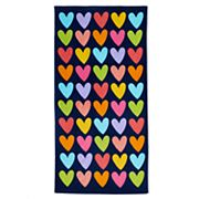Jumping Beans® Rainbow Hearts Beach Towel