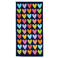 Jumping Beans® Rainbow Hearts Beach Towel