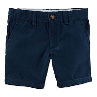 Boys 4-8 Carter's Flat Front Shorts