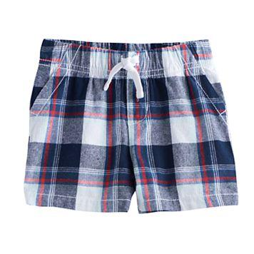 Baby Boy Jumping Beans® Plaid Shorts