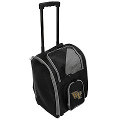 Mojo Wake Forest Demon Deacons Wheeled Pet Carrier