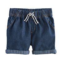 Baby Boy Jumping Beans® Rolled Denim Shorts