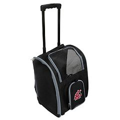 Mojo Washington State Cougars Wheeled Pet Carrier