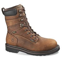 Wolverine Brek Men's Waterproof 8-in. Work Boots