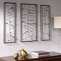 Madison Park Signature Clement Metal Wall Decor 3 pc Set