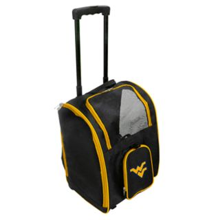 Mojo West Virginia Mountaineers Wheeled Pet Carrier