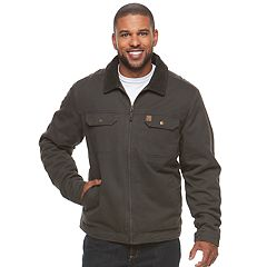 Men's Coleman Sherpa-Lined Twill Jacket