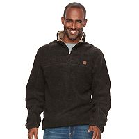Men's Coleman Classic-Fit Sherpa-Lined Quarter-Zip Pullover