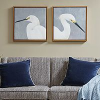 Madison Park Seabird Thoughts Heavy Wall Art 2 pc Set