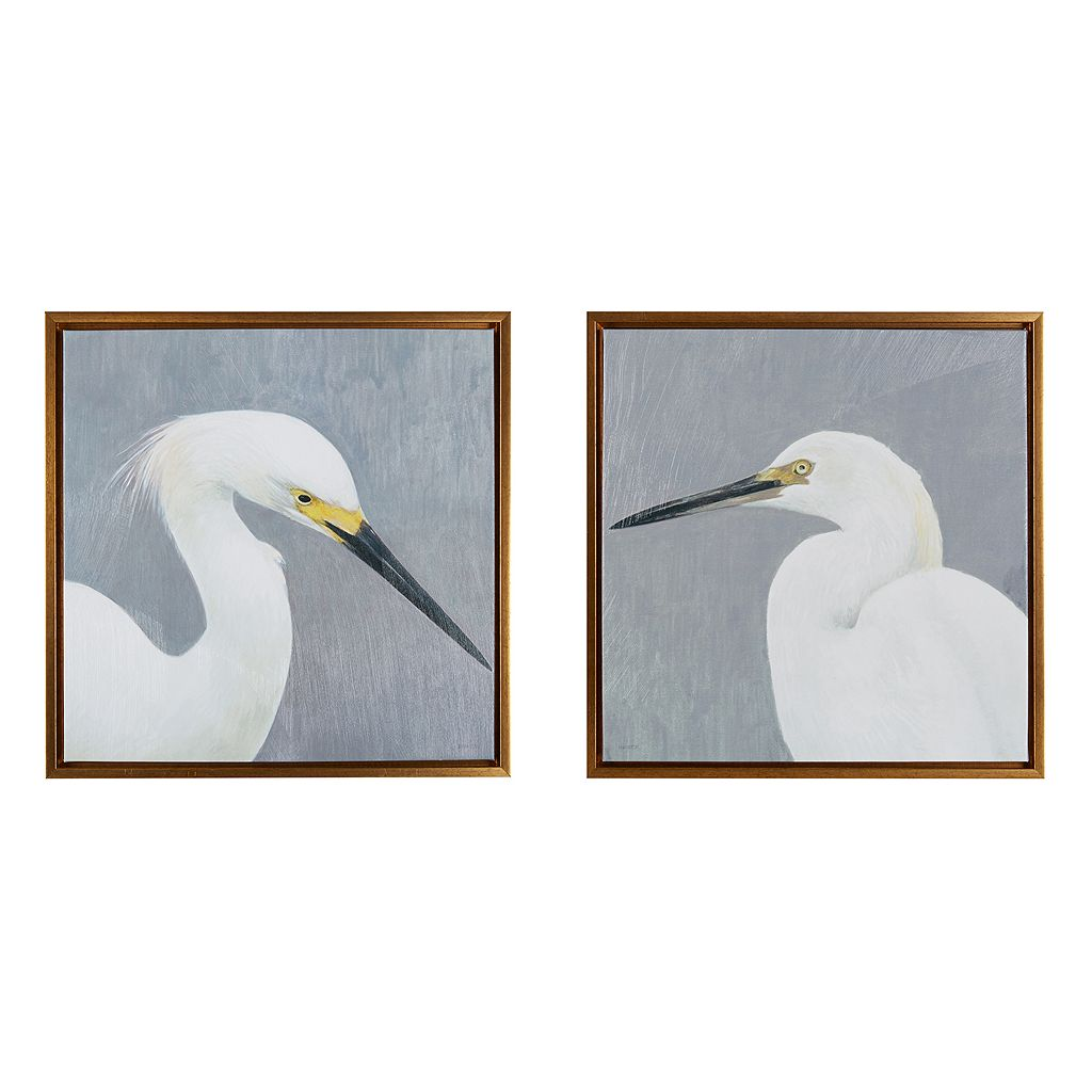 Madison Park Seabird Thoughts Heavy Wall Art 2-piece Set
