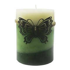 SONOMA Goods for Life™ Woodland Berry 3' x 4' Tri-Pour Pillar Candle
