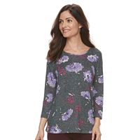 Women's Croft & Barrow® Floral Top
