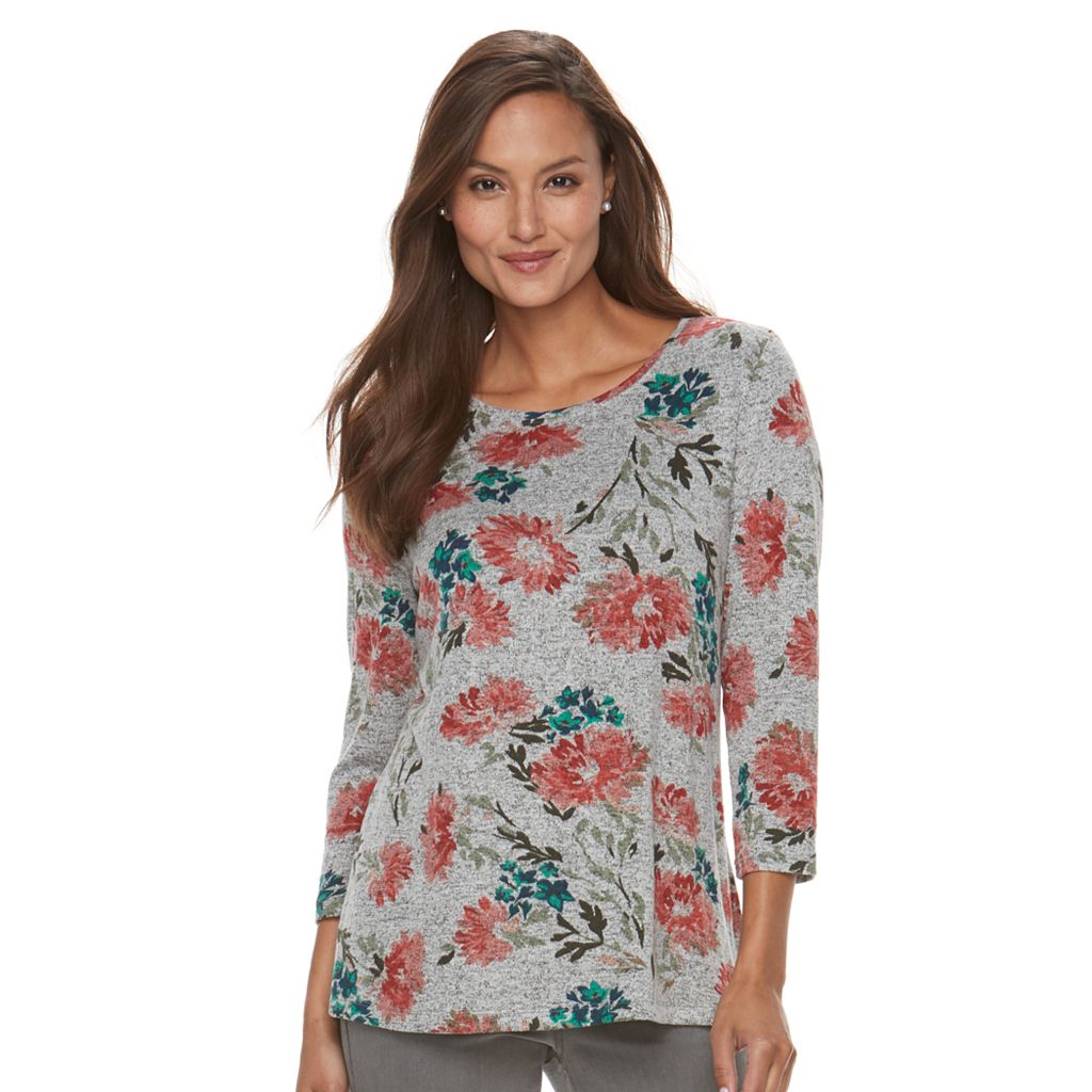 Women's Croft & Barrow® Floral Top