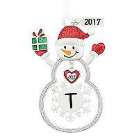Snowman Monogram