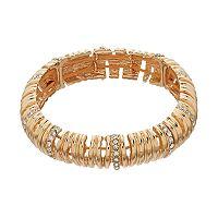 Dana Buchman Slatted Stretch Bracelet