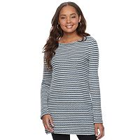 Women's SONOMA Goods for Life™ Crewneck Waffle-Weave Tunic