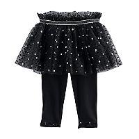 Baby Girl Baby Starters Ruffle Polka-Dot Tutu Leggings