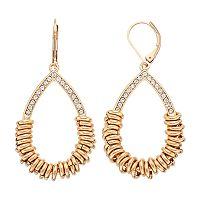 Dana Buchman Rondelle Teardrop Earrings