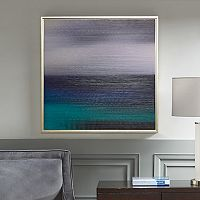 Madison Park Signature Blue Seascape Framed Wall Art
