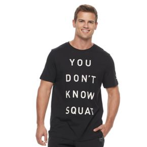 """Men's Reebok """"You Don't Know Squat"""" Graphic Tee"""
