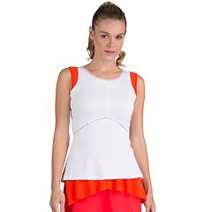 Women's Tail Victoria Mesh Shoulder Tennis Tank