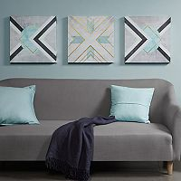 Urban Habitat Axis Printed Canvas Wall Art 3-piece Set