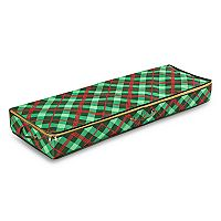 Honey-Can-Do Plaid Gift Wrap Organizer