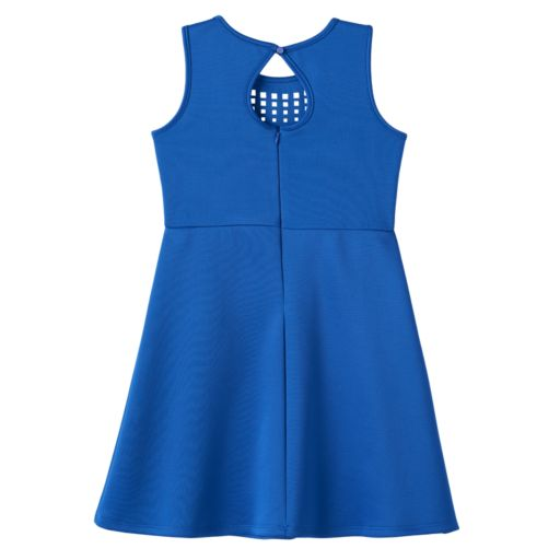 Girls 7-16 Lilt Laser Cut Skater Dress