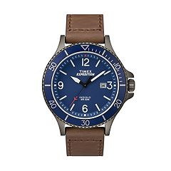 Timex Men's Expedition Ranger Leather Watch - TW4B10700JT