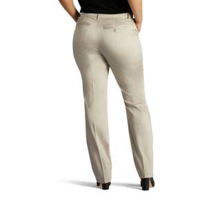 Plus Size Lee Total Freedom Dress Pants