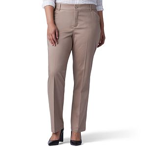 160df707 Plus Size Lee Relaxed Fit Straight-Leg Pants