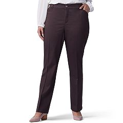 Plus Size Lee Flex Motion Straight-Leg Pants