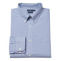 Big & Tall Croft & Barrow® True Comfort Regular-Fit Dress Shirt