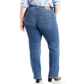 Plus Size Levi's 414 Classic Fit Straight-Leg Jeans