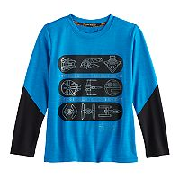 Boys 4-7x Star Wars a Collection for Kohl's Pieced Sleeve Tee