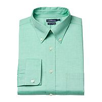 Men's Croft & Barrow® Easy-Care True Comfort Slim-Fit Stretch Dress Shirt