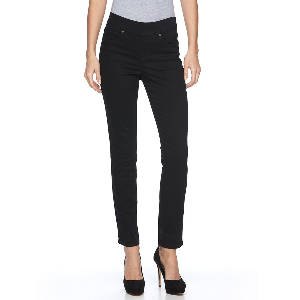Women's Gloria Vanderbilt Avery Slim Straight-Leg Jeans