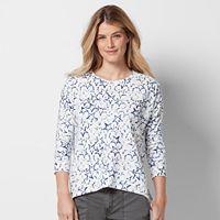 Women's SONOMA Goods for Life™ Print French Terry Sweatshirt
