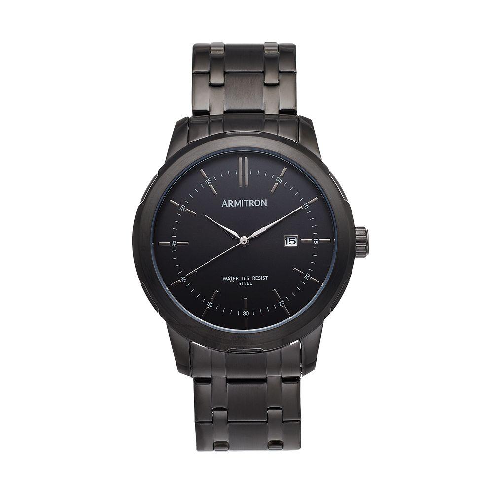 Armitron Men's Stainless Steel Watch- 20/5245BKTI