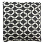 Safavieh Diamond Geometric Knit Throw Pillow