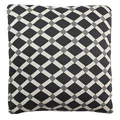 Safavieh Diamond Geometric Knit Throw Pillow