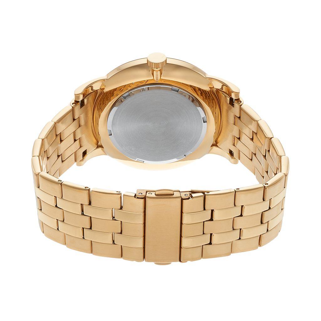Armitron Men's Diamond Accent Stainless Steel Watch - 20/5251BKGP