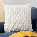 Safavieh 3D Diamond Geometric Throw Pillow