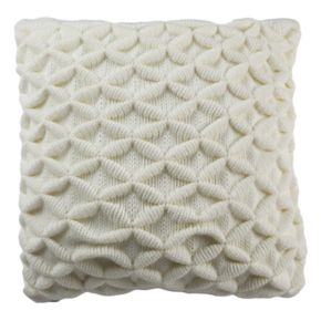 Safavieh 3D Diamond Geometric Throw Pillow