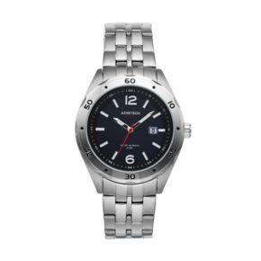 Armitron Men's Stainless Steel Solar Watch - 20/5253BKSV
