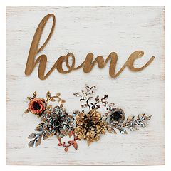Stratton Home Decor Rustic 'Home' Wall Decor